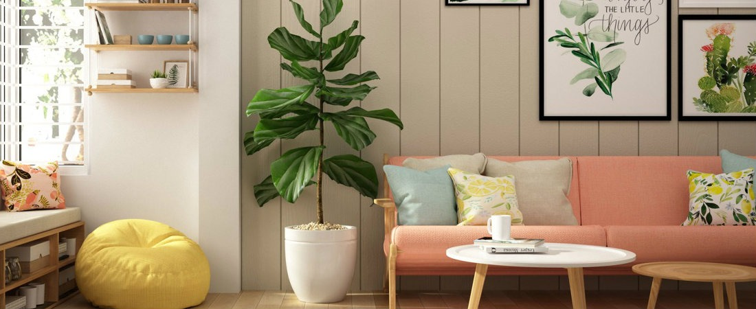 Interior Design Trends Moodboard – Interior Design Trends for 2019 Fiddle Leaf Fig