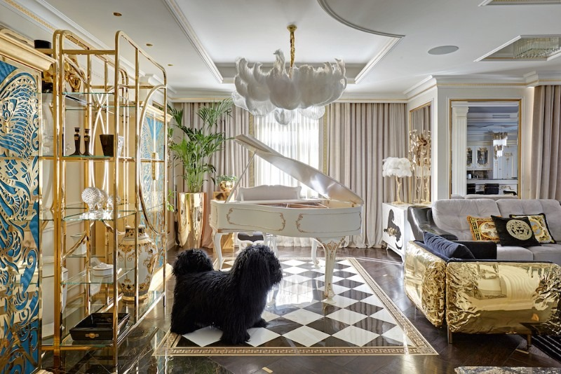 tatyana myronova Take a Look at This Goldlusted Russian Apartment by Tatyana Myronova Take a Look at This Goldlusted Russian Apartment by Tatyana Myronova 2