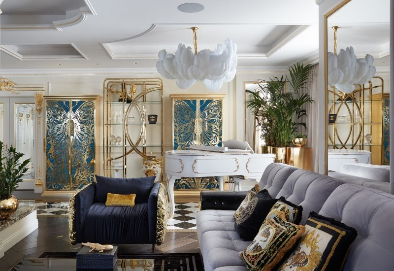Take a Look at This Goldlusted Russian Apartment by Tatyana Myronova tatyana myronova Take a Look at This Goldlusted Russian Apartment by Tatyana Myronova Take a Look at This Goldlusted Russian Apartment by Tatyana Myronova 6