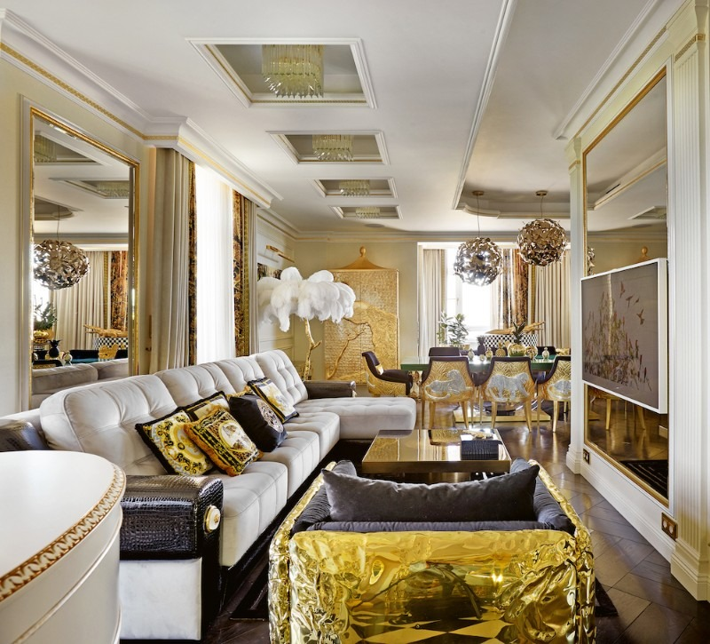 Take a Look at This Goldlusted Russian Apartment by Tatyana Myronova tatyana myronova Take a Look at This Goldlusted Russian Apartment by Tatyana Myronova Take a Look at This Goldlusted Russian Apartment by Tatyana Myronova