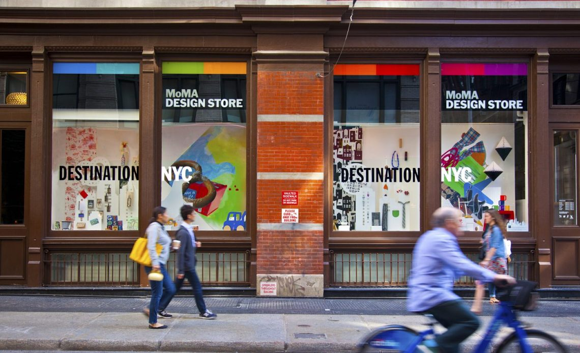 AD Design Show 2019 in NYC Is Coming! And This Design Guide is For You ad design show 2019 AD Design Show 2019 in NYC Is Coming! And This Design Guide is For You new york city guide for designers moma design shop exterior 1 1400x852