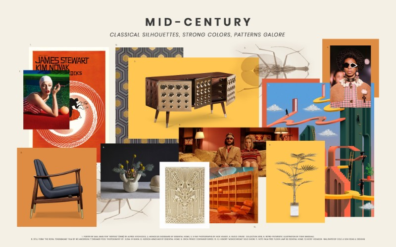 In Love With the Mid-Century Decor Take a Look at These Inspirations mid-century Mid-Century Vibes Moodboard To Get You In The Design Mood In Love With the Mid Century Decor Take a Look at These Inspirations 3