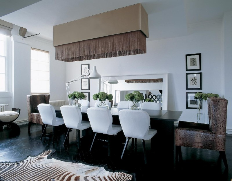 Incredible Dining Rooms Designed by Kelly Hoppen! interior designers Top 100 Interior Designers & Architects of The World – Part 1 Incredible Dining Rooms Designed by Kelly Hoppen 3