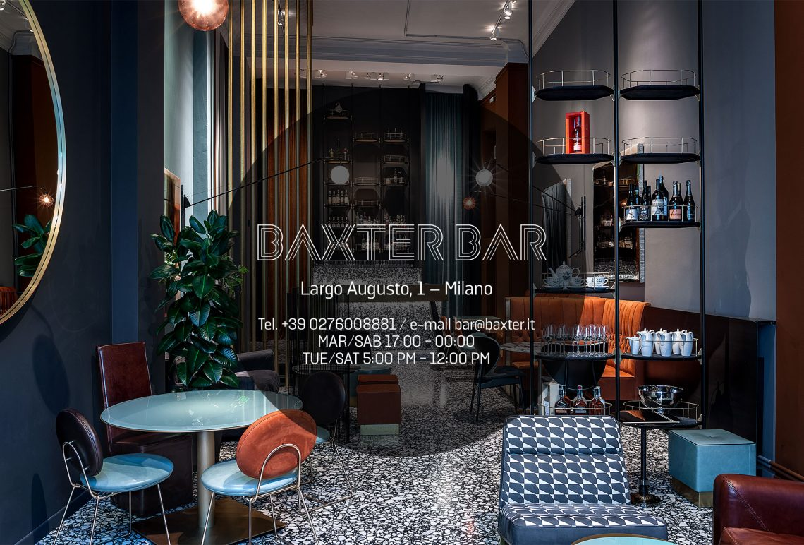 milan design week Milan Design Week/ Fuorisalone 2019 – Best Events & Parties baxter bar