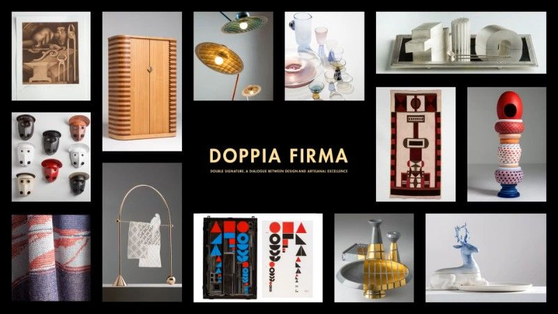 doppia firma Don't Miss The Incredible Doppia Firma Event at Salone del Mobile doppia firma