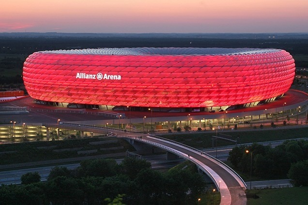 de meuron Top Architects – Herzog & De Meuron Allianz Arena Munich