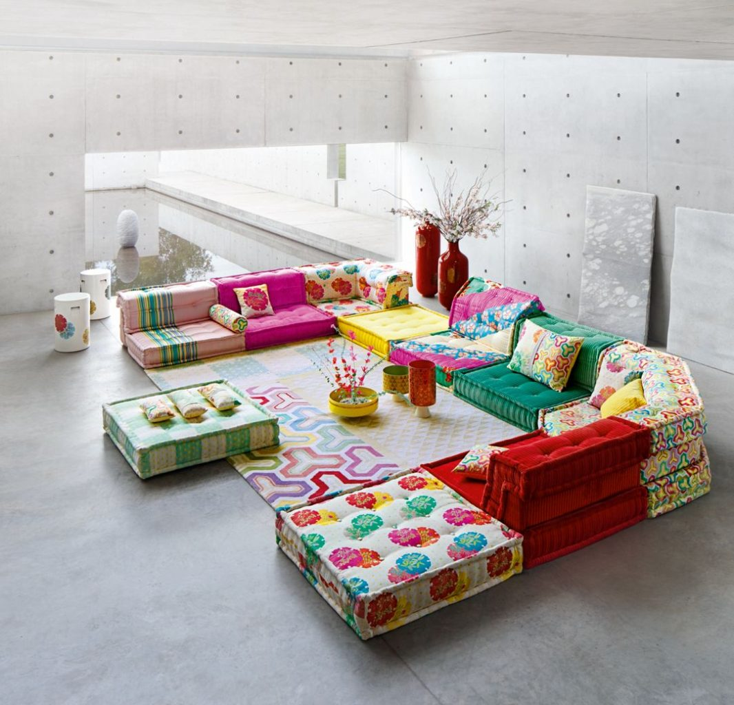 Roche Bobois Paris 7 joana vasconcelos & roche bobois debuts their partnership