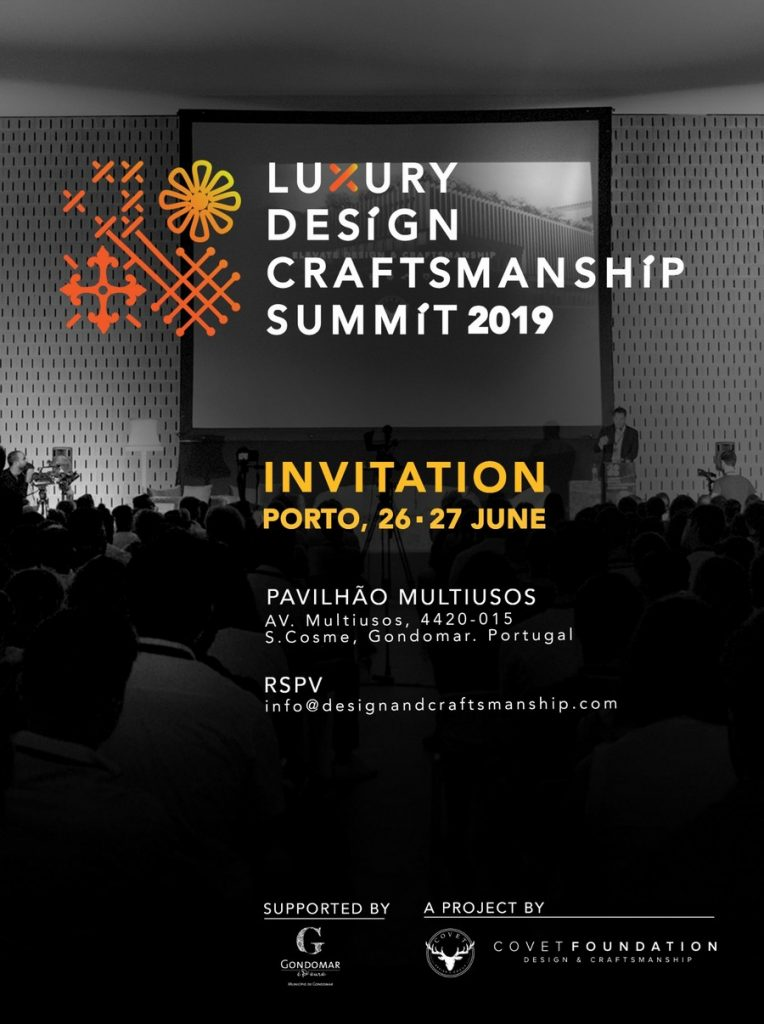 The second edition of The Luxury Design & Craftsmanship Summit is near! craftsmanship summit The Second Edition of The Luxury Design & Craftsmanship Summit is Upon Us! LDC2 Die zweite Ausgabe des Luxury Design & Craftsmanship Summit steht vor der Tür! LDC2