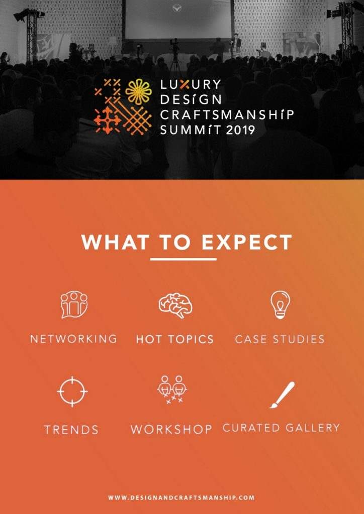 craftsmanship summit The Second Edition of The Luxury Design & Craftsmanship Summit is Upon Us! LDC3