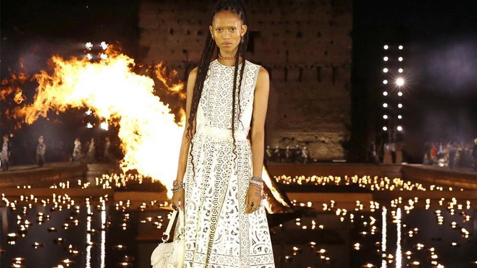 dior The Incredible African Inspiration Behind Dior's Lattest Colection dior 3