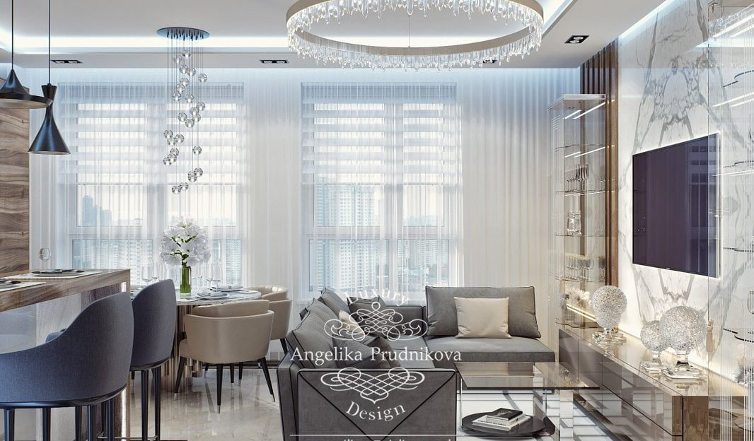 Discover The Best Selection Of Russian Top Interior Designers top interior designers Discover The Best Selection Of Russian Top Interior Designers dizayn proekt interera kvartiry v zhk filigrad v stile modern v svetlykh ottenkakh p67 2 1066x624