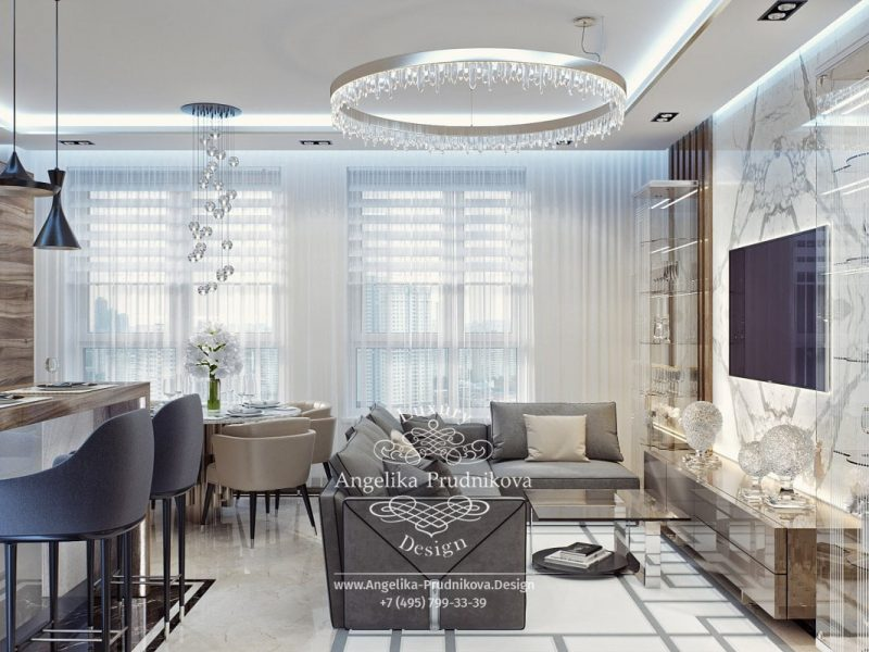Discover The Best Selection Of Russian Top Interior Designers top interior designers Discover The Best Selection Of Russian Top Interior Designers dizayn proekt interera kvartiry v zhk filigrad v stile modern v svetlykh ottenkakh p67 2 e1560426375110