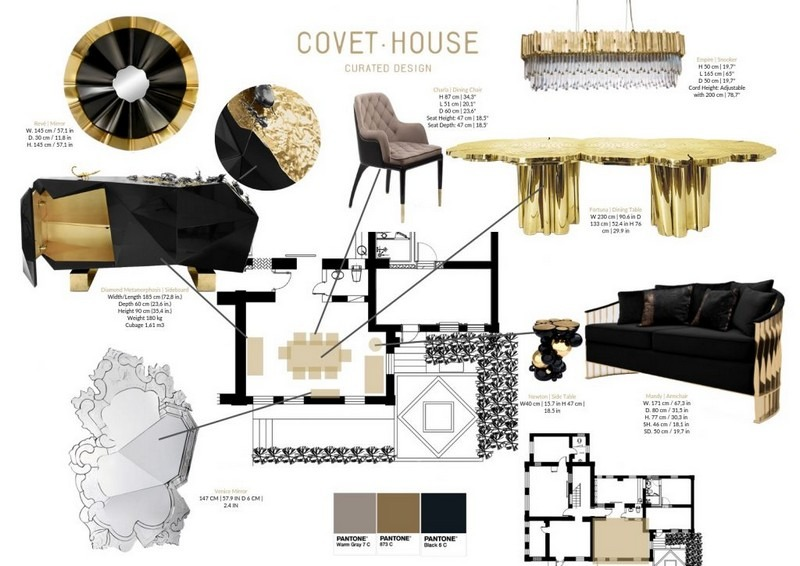 Get To Know the Top Exhibitors of Decorex 2019 maison et objet The Best of Day 1 of Maison et Objet 2019 Black and Gold Is The Perfect Colour Combination For Your Home Decor 1