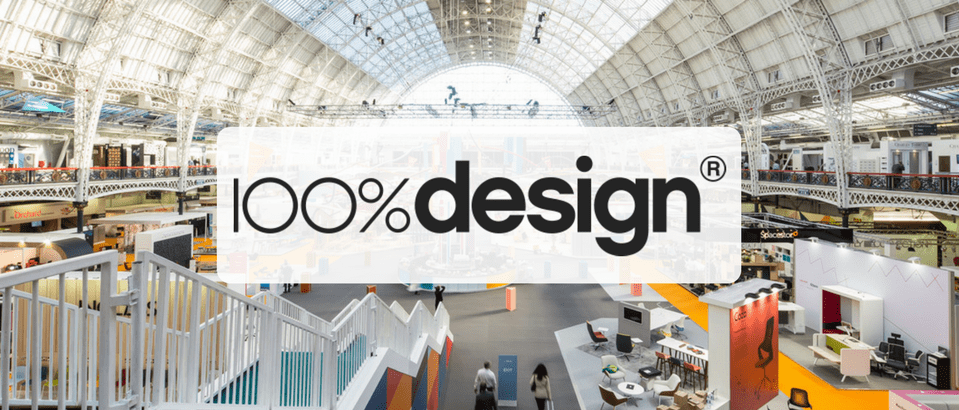 100% design 100% Design Started Today in London! 100design