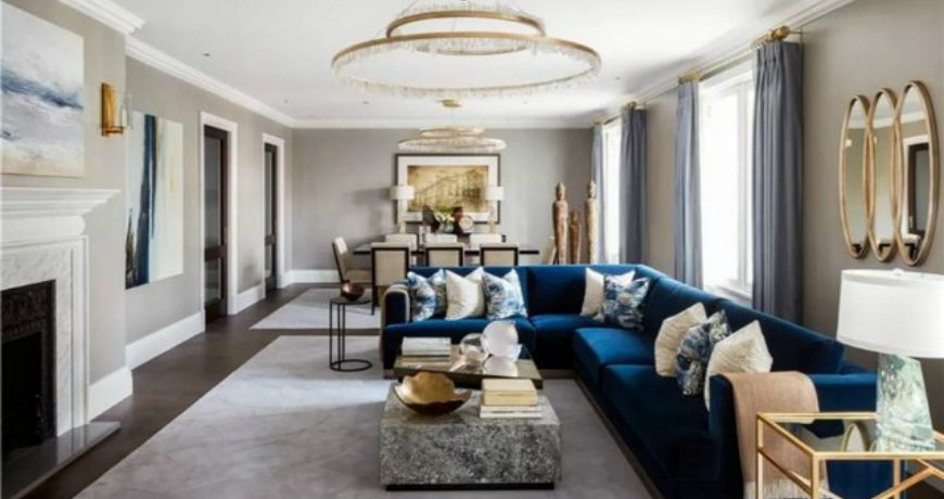 Eclectic Aesthetics From Katharine Pooley katharine pooley Best Interior Design Projects by Katharine Pooley katherine pooley2