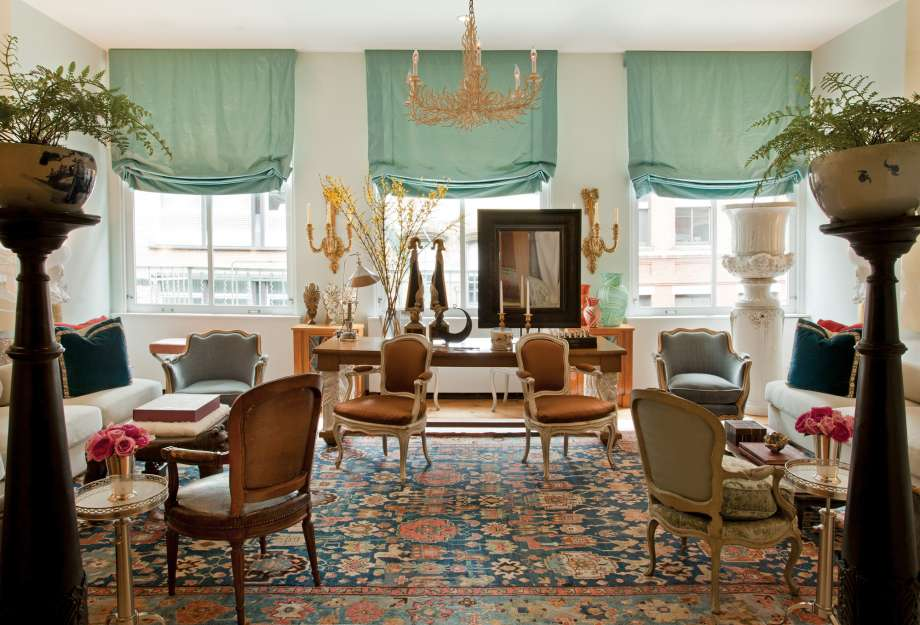 Best Living Room Designs by Robert Couturier