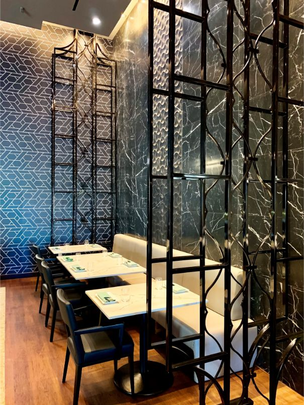 A Sophisticated Asian Restaurant by Tandem Design tandem A Sophisticated Asian Restaurant by Tandem Design A Sophisticated Asian Restaurant by Tandem Design 1