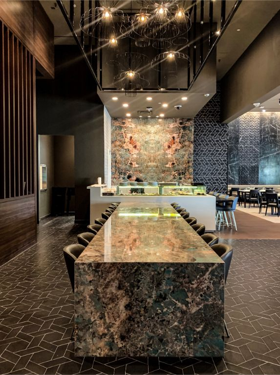 tandem A Sophisticated Asian Restaurant by Tandem Design A Sophisticated Asian Restaurant by Tandem Design 6
