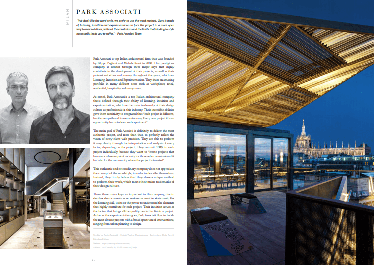 designers of milan Free Ebook – Discover The Best Interior Designers of Milan park
