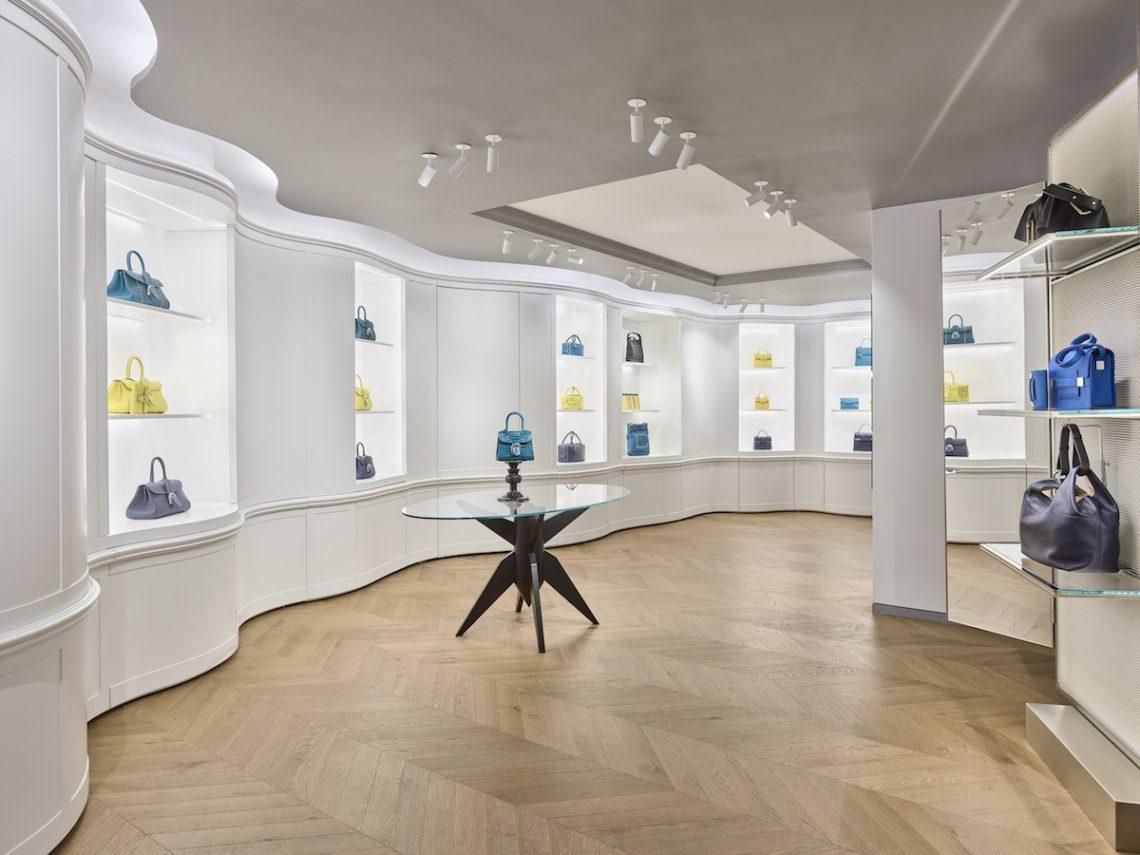 Vudafieri-Saverino Designed Delvaux's First Store in New York