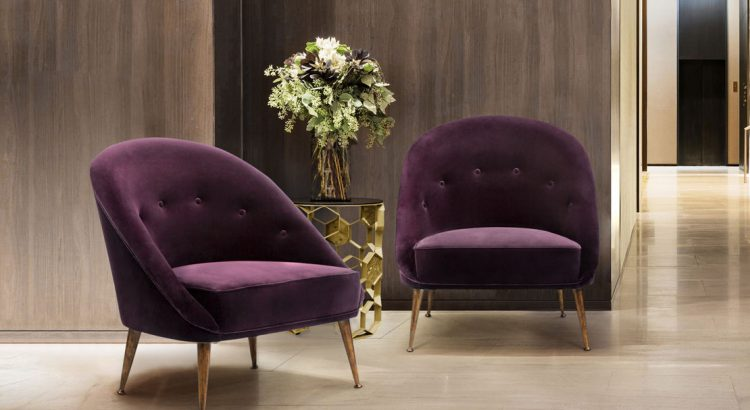 interior designers Amazing Ebook Featuring Interior Designers From Modern to Classic Design Velvet Armchair Malay by BRABBU 2020 Modern Upholstery Trends 750x410 1