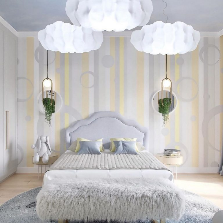The Dreamiest Kids Bedroom Design by BSK Design