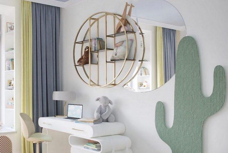 bsk design The Dreamiest Kids Bedroom Design by BSK Design The Dreamiest Kids Bedroom Design by BSK Design1 768x516