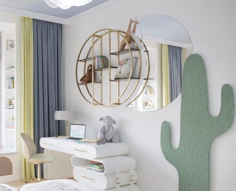 bsk design The Dreamiest Kids Bedroom Design by BSK Design The Dreamiest Kids Bedroom Design by BSK Design1 768x624
