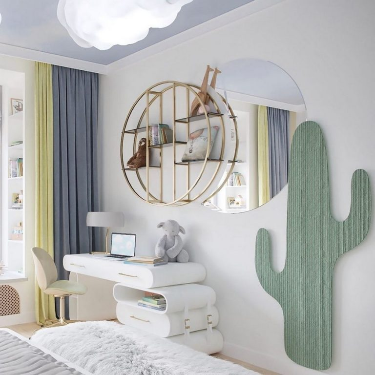 bsk design The Dreamiest Kids Bedroom Design by BSK Design The Dreamiest Kids Bedroom Design by BSK Design1