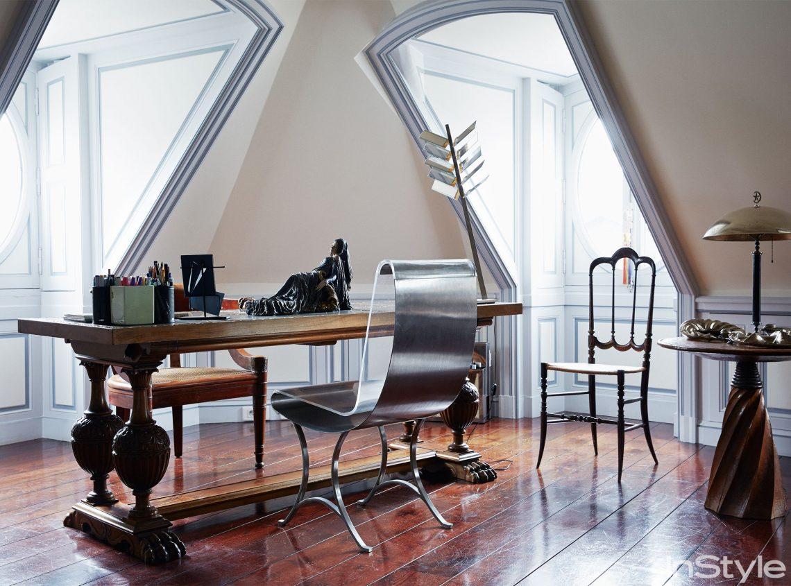 Luxury Penthouse of Christian Louboutin Designed by Jacques Grange 3 christian louboutin Luxury Penthouse of Christian Louboutin Designed by Jacques Grange elle decor scaled