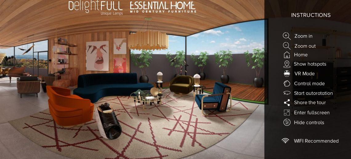 Take a Look at This Virtual Tour a Stunning Mid-Century Summer House! mid-century Take a Look at This Virtual Tour a Stunning Mid-Century Summer House! start screen summer house scaled 1140x516