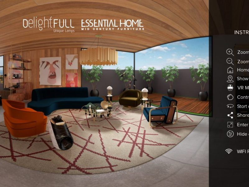 Take a Look at This Virtual Tour a Stunning Mid-Century Summer House! mid-century Take a Look at This Virtual Tour a Stunning Mid-Century Summer House! start screen summer house scaled 800x602
