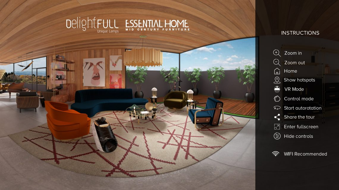 Take a Look at This Virtual Tour a Stunning Mid-Century Summer House! mid-century Take a Look at This Virtual Tour a Stunning Mid-Century Summer House! start screen summer house scaled