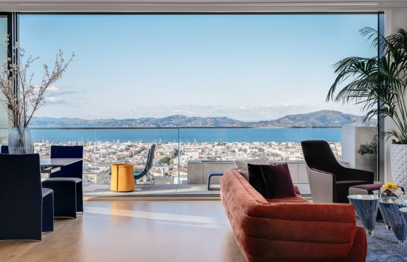 A Contemporary Design Projectin Pacific Heights by Applegate & Tran