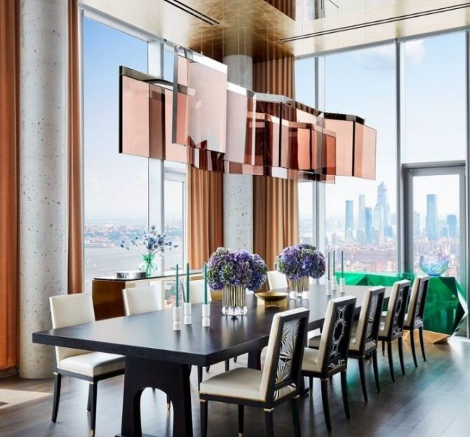 Richard Mishaan's Lattest Luxury project in NYC A Fantastic Modern New York Apartment by Richard Mishaan 9 scaled 1 670x624