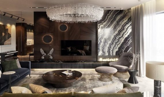 designers The 16 Best Interior Designers of St Petersburg A Luxury Apartment in Russia Designed by Studia 54 570x340