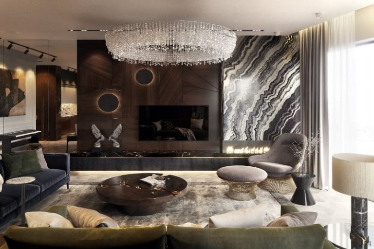 designers The 16 Best Interior Designers of St Petersburg A Luxury Apartment in Russia Designed by Studia 54