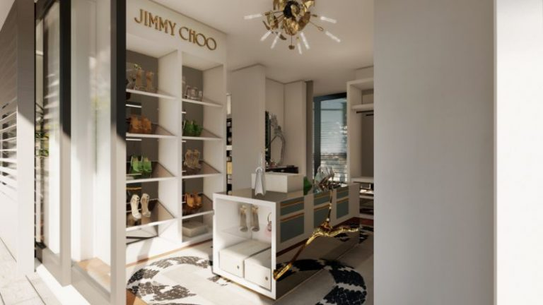 Boca do Lobo And Jimmy Choo's Luxury Walk-In Closet luxury closet Boca do Lobo And Jimmy Choo's Luxury Closet Boca do Lobo And Jimmy Choos Luxury Walk In Closet