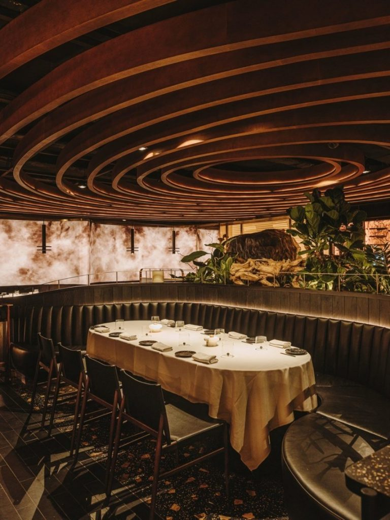 Leña Marbella, A Stunning New Restaurant in Southern Spain Design by Astet Studio