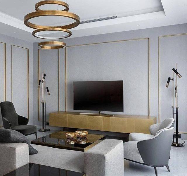 Contemporary Lighting Ideas for a Neutral Living Room