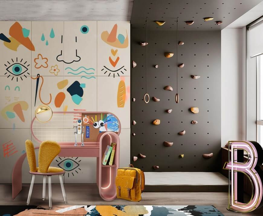 Kids Study Room kids study room Kids Study Room Ideas | Magical Furniture Kids Study Room 3