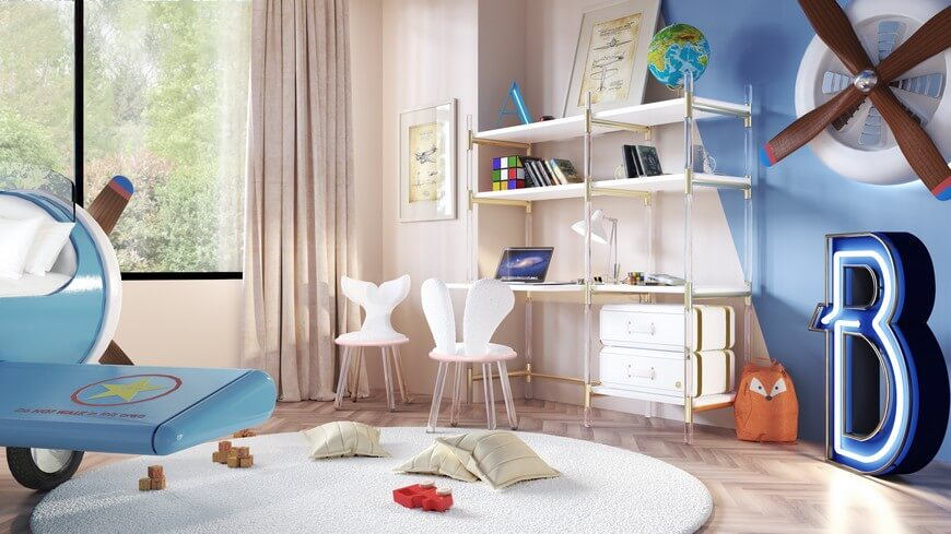Kids Study Room kids study room Kids Study Room Ideas | Magical Furniture Kids Study Room 4