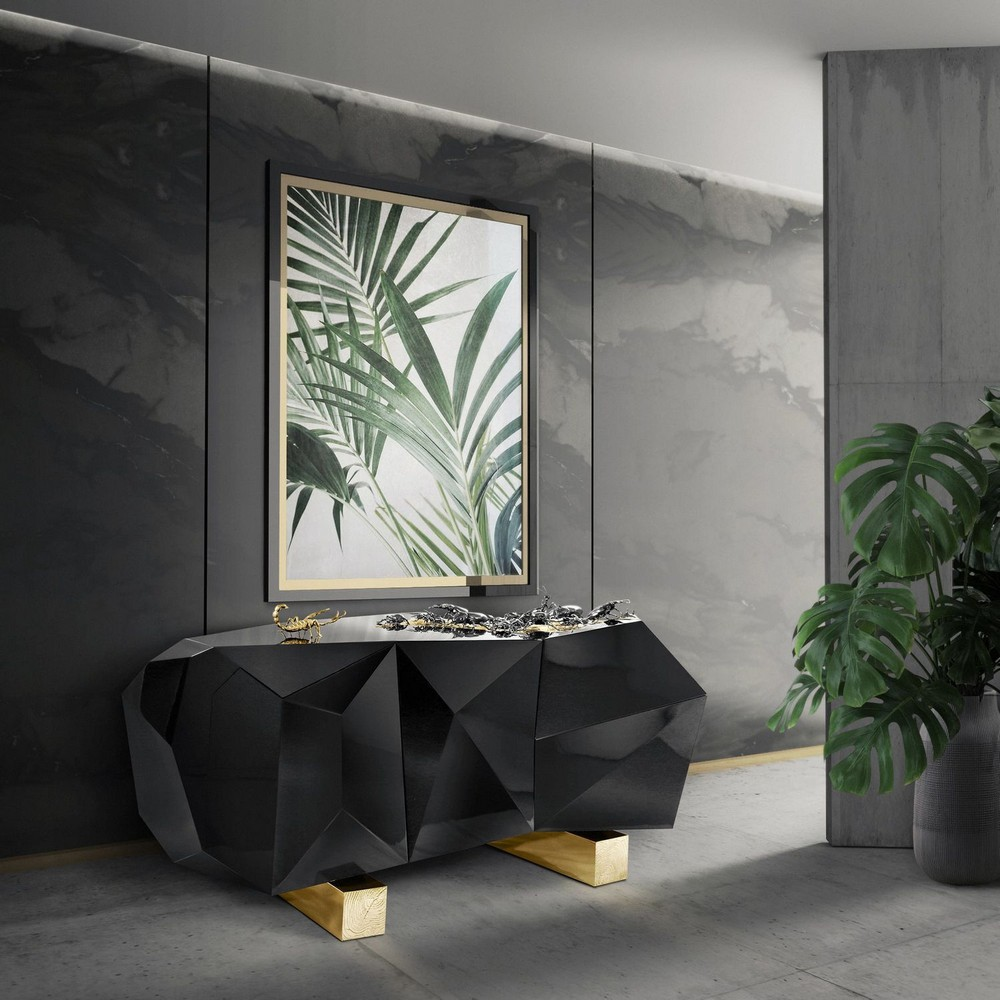 7+ Glamorous Black Sideboards Ideas (5) black sideboards 7+ Glamorous Black Sideboards Ideas 7 Glamorous Black Sideboards Ideas 4