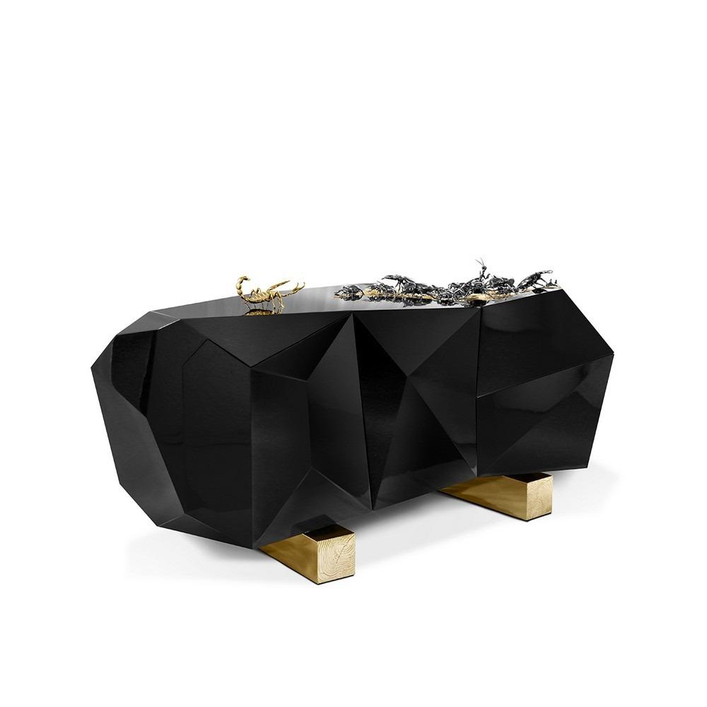 black sideboards 7+ Glamorous Black Sideboards Ideas 7 Glamorous Black Sideboards Ideas 5