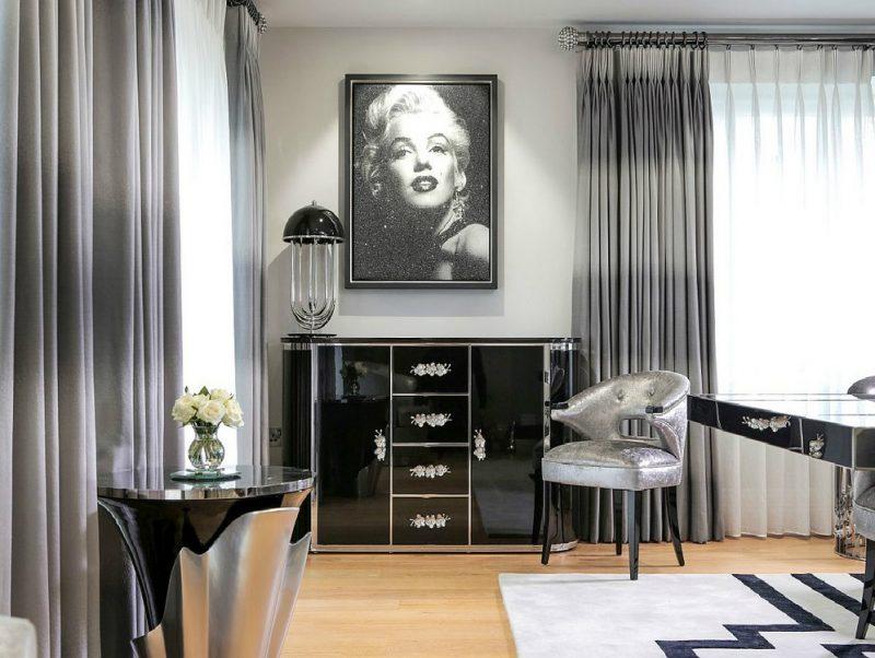7+ Glamorous Black Sideboards Ideas (5) black sideboards 7+ Glamorous Black Sideboards Ideas 7 Glamorous Black Sideboards Ideas 6 800x602