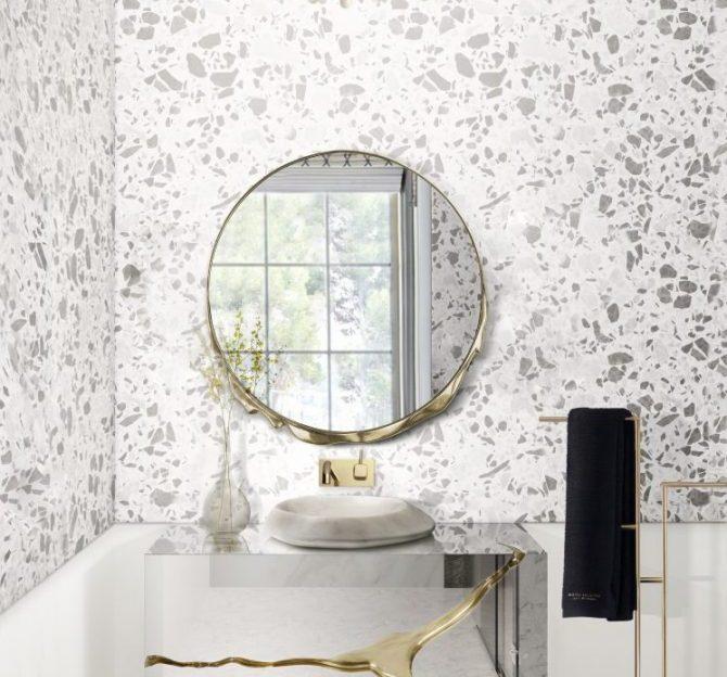 terrazzo bathroom Terrazzo Bathroom Ideas | Everything About This Trend Terrazo Bathroom Ideas Everything About This Trend 4 scaled 670x624