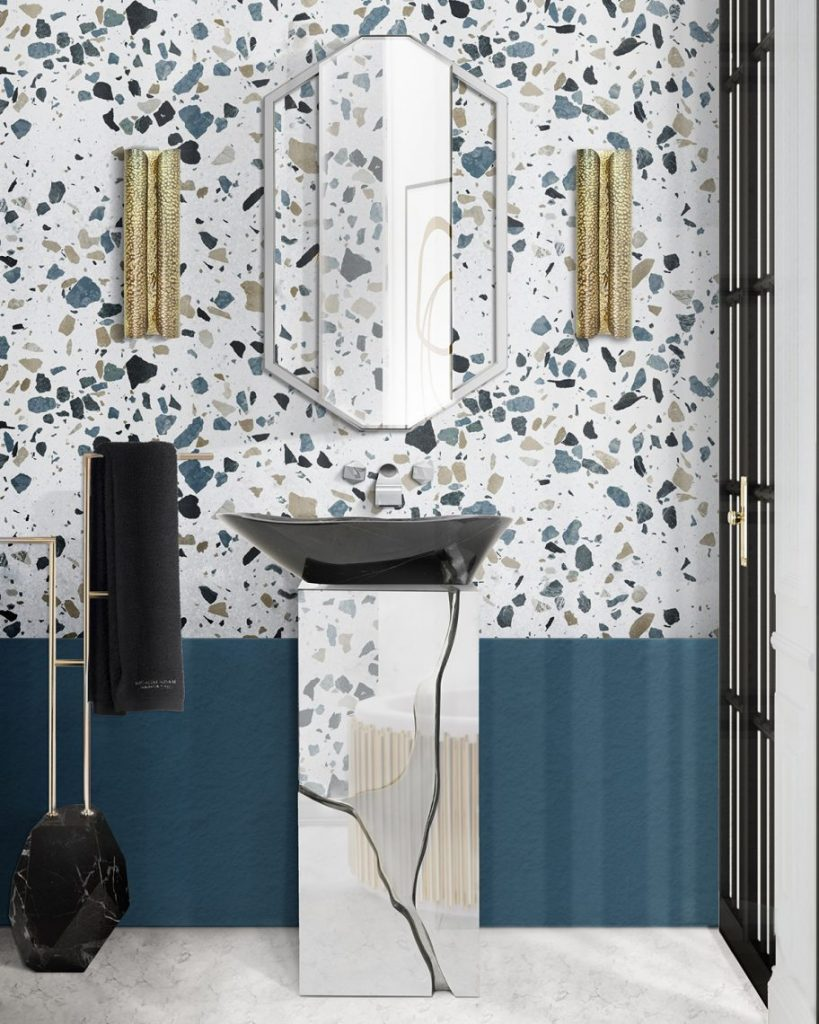 terrazzo bathroom ideas Terrazzo Bathroom Ideas   Everything About This Trend Terrazo Bathroom Ideas Everything About This Trend 5 scaled