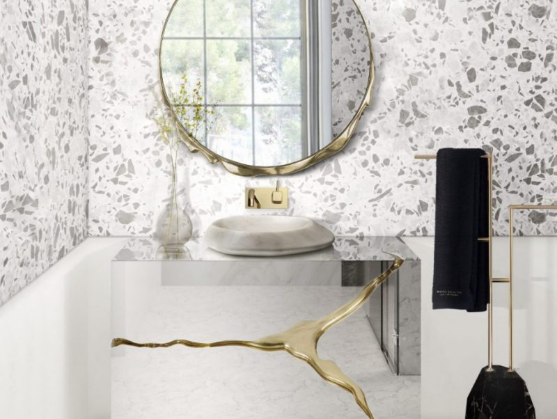Terrazo Bathroom Ideas Everything About This Trend (6) terrazzo bathroom ideas Terrazzo Bathroom Ideas | Everything About This Trend Terrazo Bathroom Ideas Everything About This Trend 6 scaled 800x602