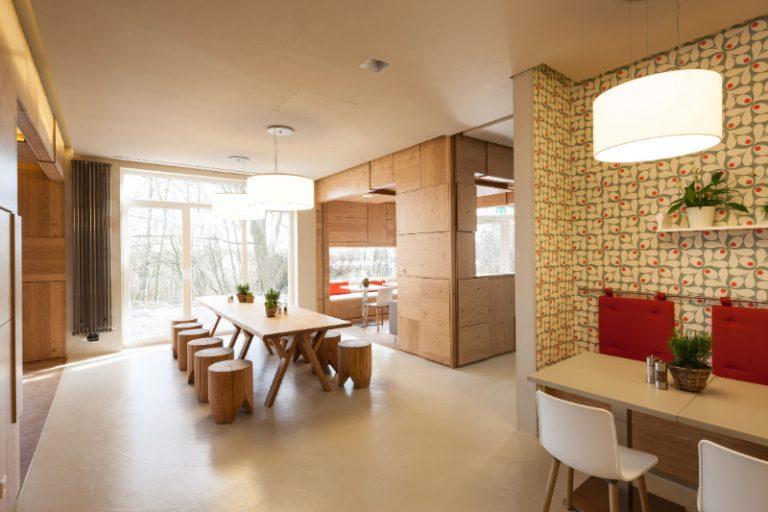 The Best 15 Interior Designers of Frankfurt frankfurt The Best 14 Interior Designers of Frankfurt umbau bildungsstaette kantine sitzbereich 8784 1 1 768x512 1