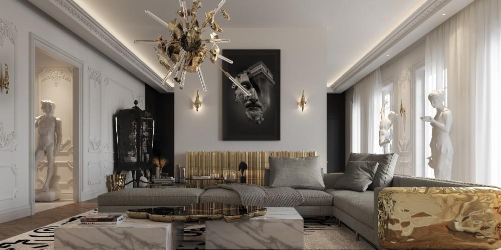 penthouse Explore The Contemporary Design of Multi-Million Dollar Penthouse In Paris 1